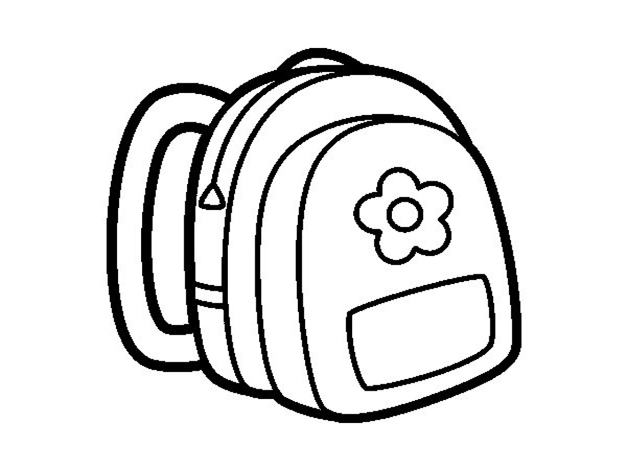 Backpack Coloring Page Cool Backpack Coloring Pages Design Gallery 11 Backpack Coloring