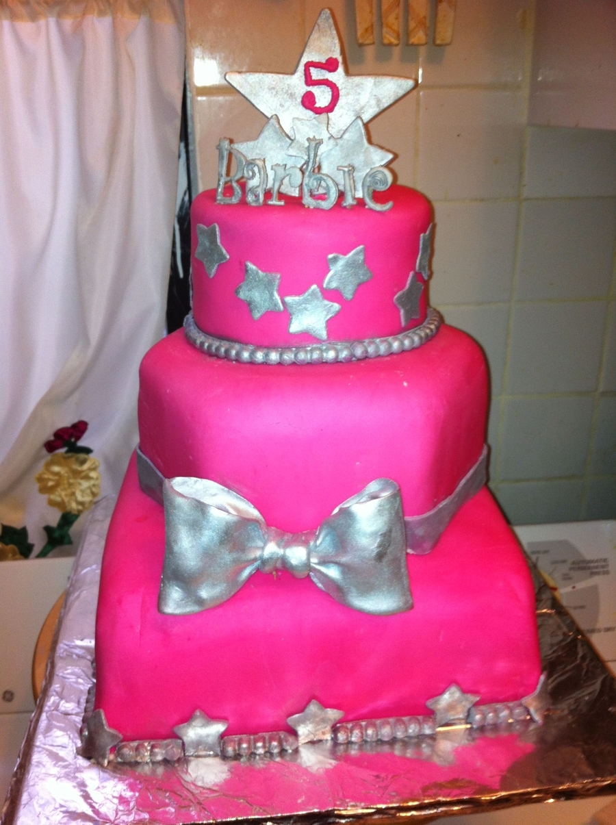 Barbie Birthday Cakes Barbie Birthday Cake Cakecentral