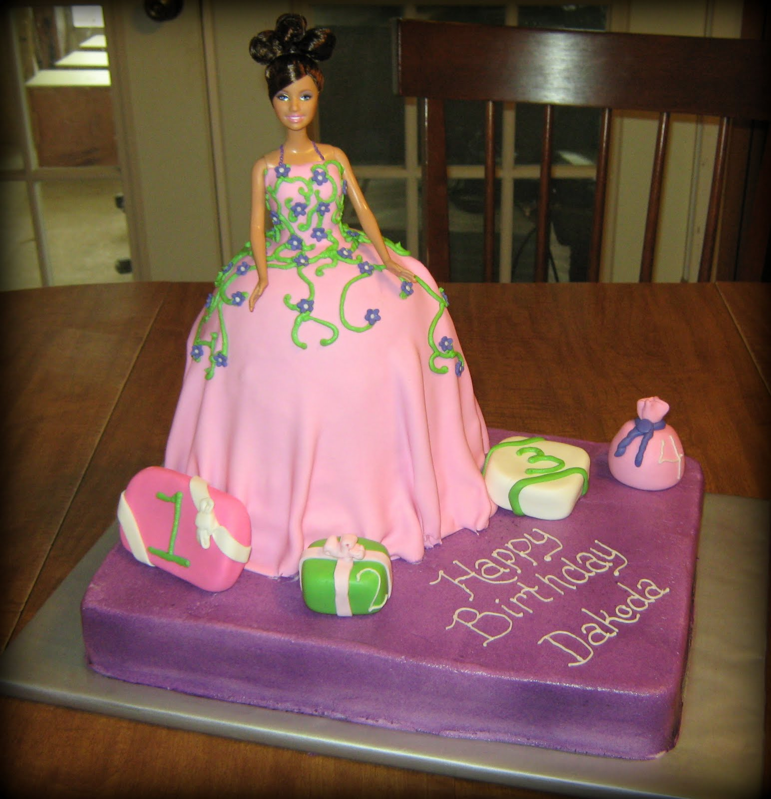 Barbie Birthday Cakes Barbie Birthday Cakes