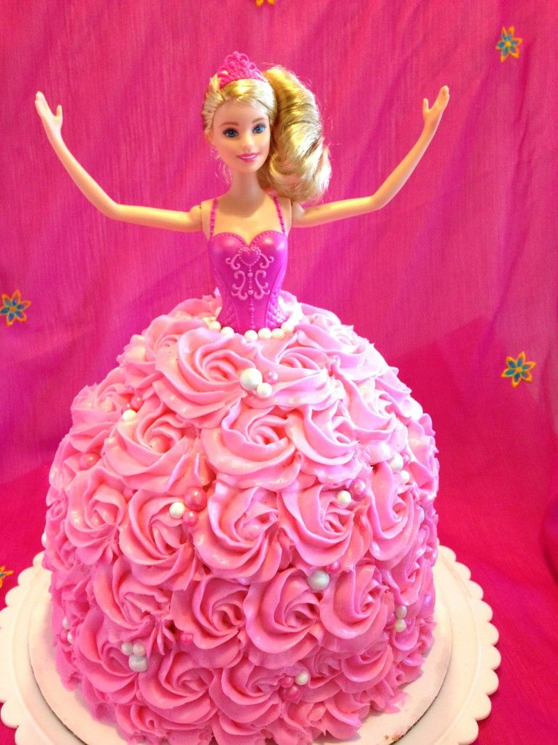 27+ Awesome Picture of Barbie Birthday Cakes