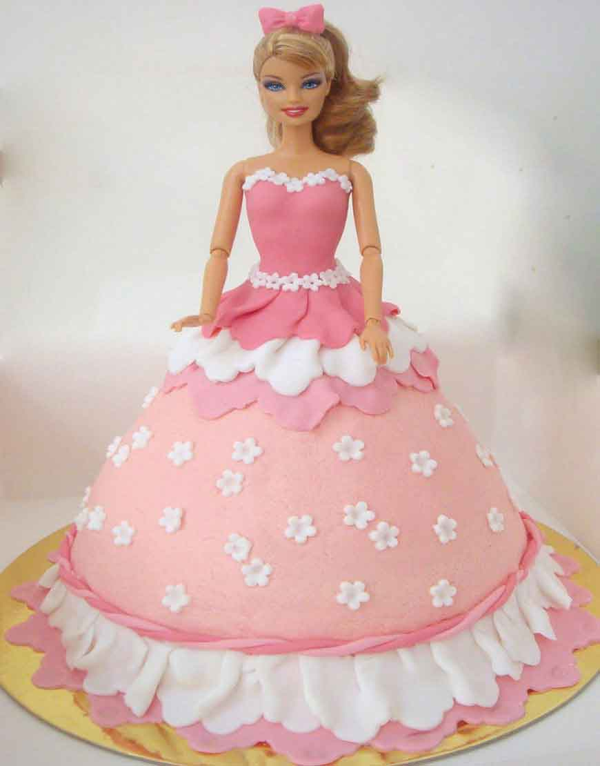 Barbie Birthday Cakes Elegant Sophisticated And Pretty Barbie Cake Gurgaonbakers