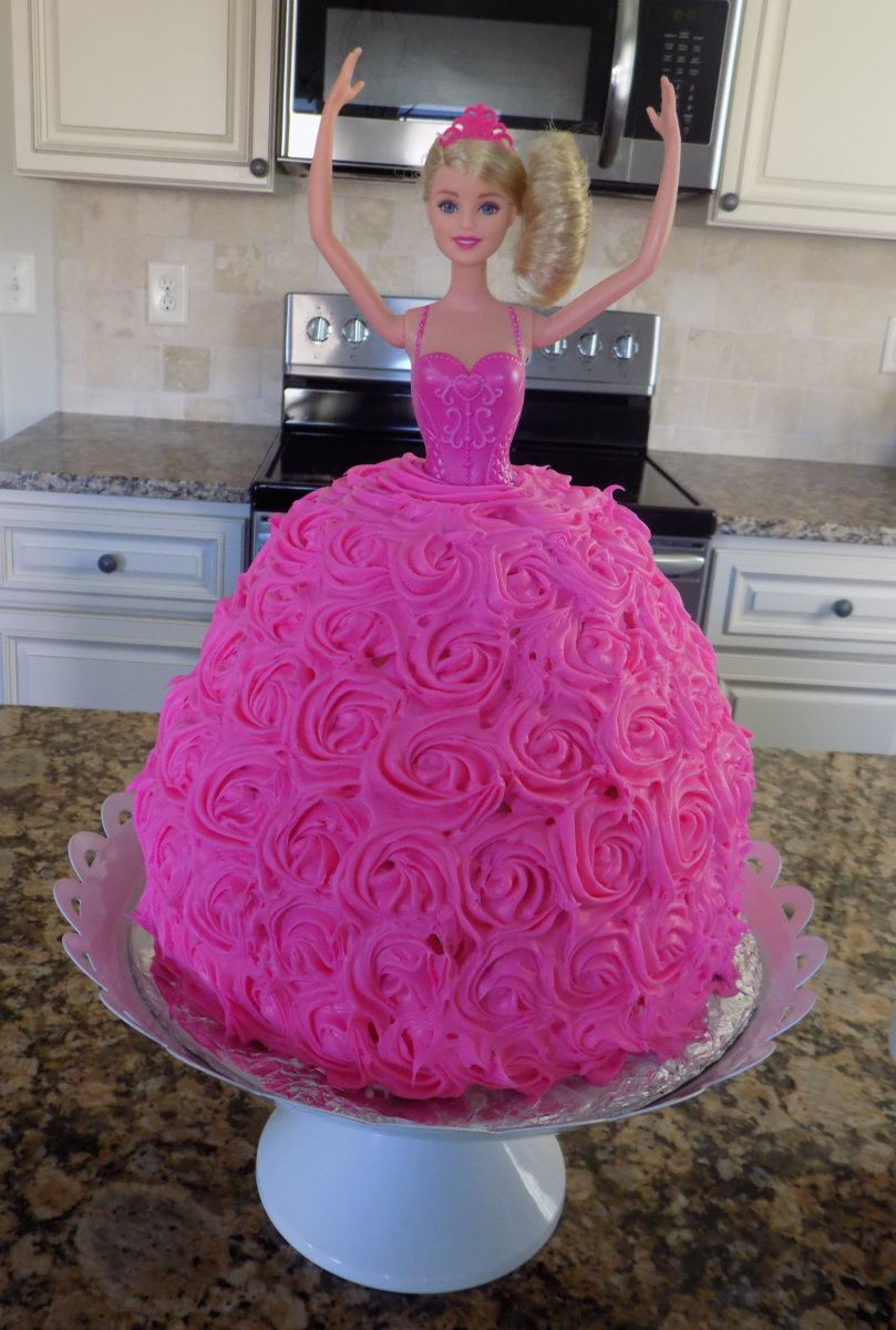 Barbie Birthday Cakes Homemade Barbie Birthday Cake Dairy Egg Free Blessed Little