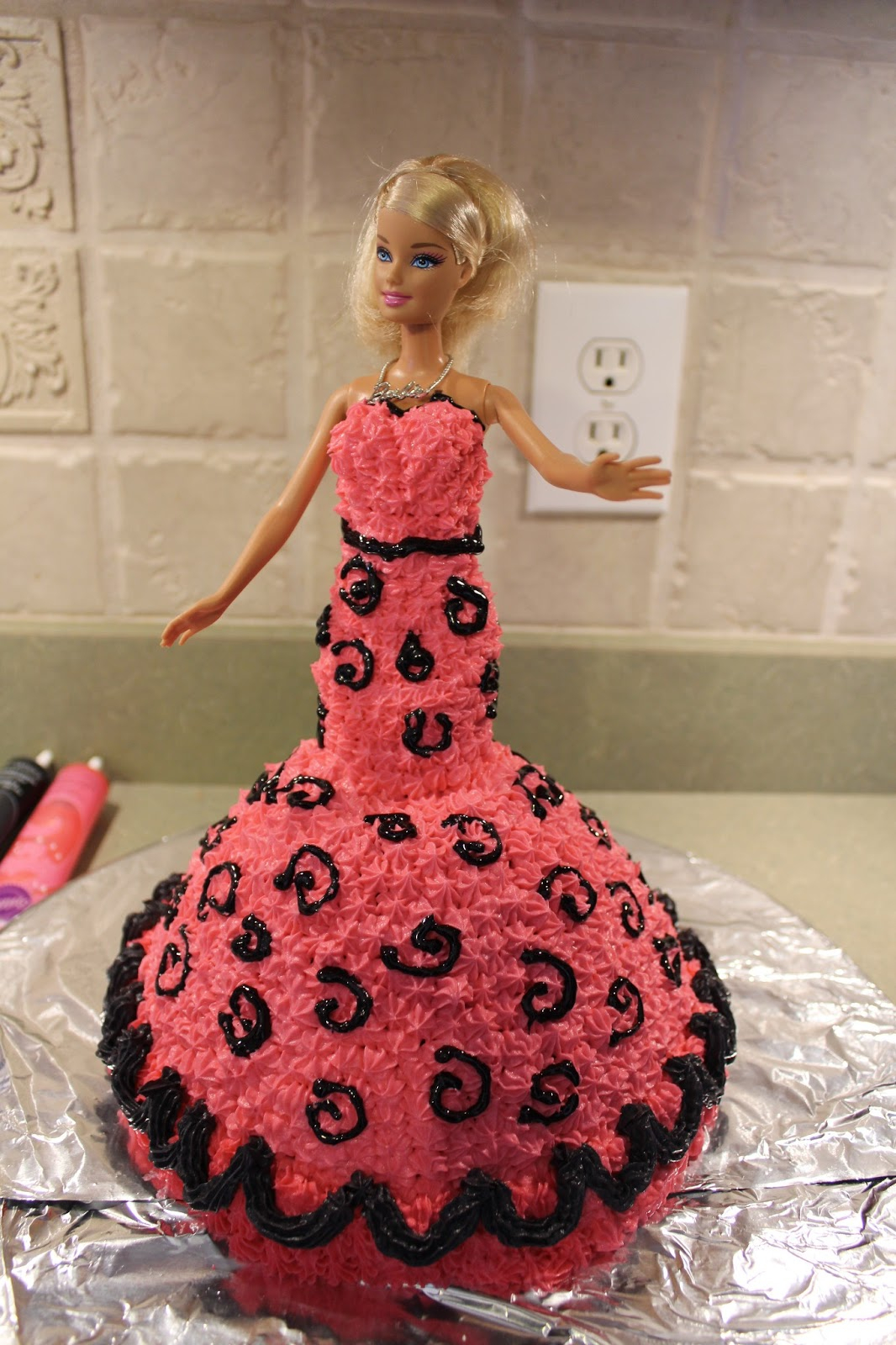 Barbie Birthday Cakes The Cool Science Dad Barbie Birthday Cake