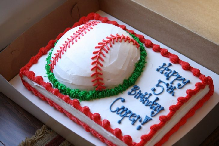 Baseball Birthday Cakes Baseball Birthday Cake This Cake Was So Much Fun To Make Cooper