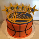 Basketball Birthday Cakes Golden State Warriors Birthday Cake My Cake Creations Birthday
