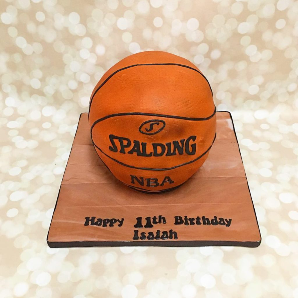 Basketball Birthday Cakes Our Cake A Little Slice Of Heaven Bakery