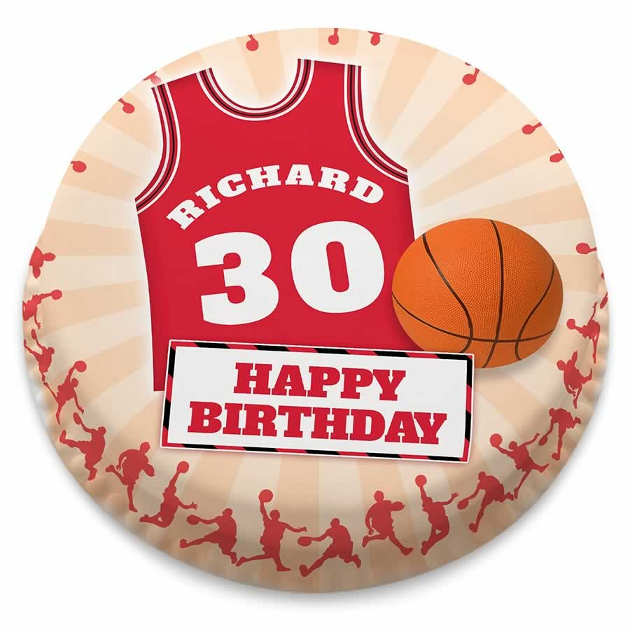 Basketball Birthday Cakes Personalised Basketball Shirt And Ball Birthday Number Cake From 1499