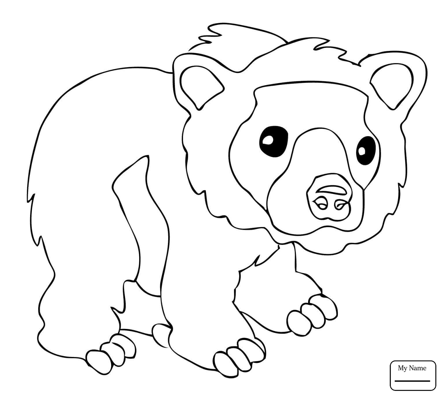 Bear Coloring Pages Coloring Page Fantastic Brown Bear Brown Bear Coloring Book