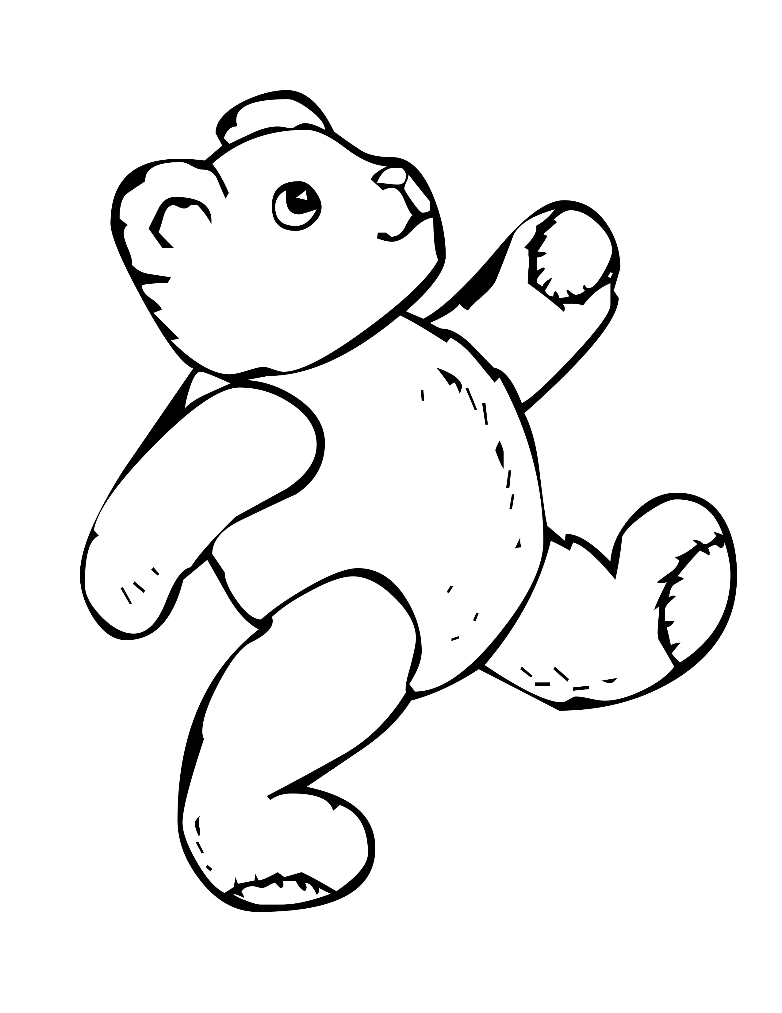 Bear Coloring Pages Free Bear Coloring Pages