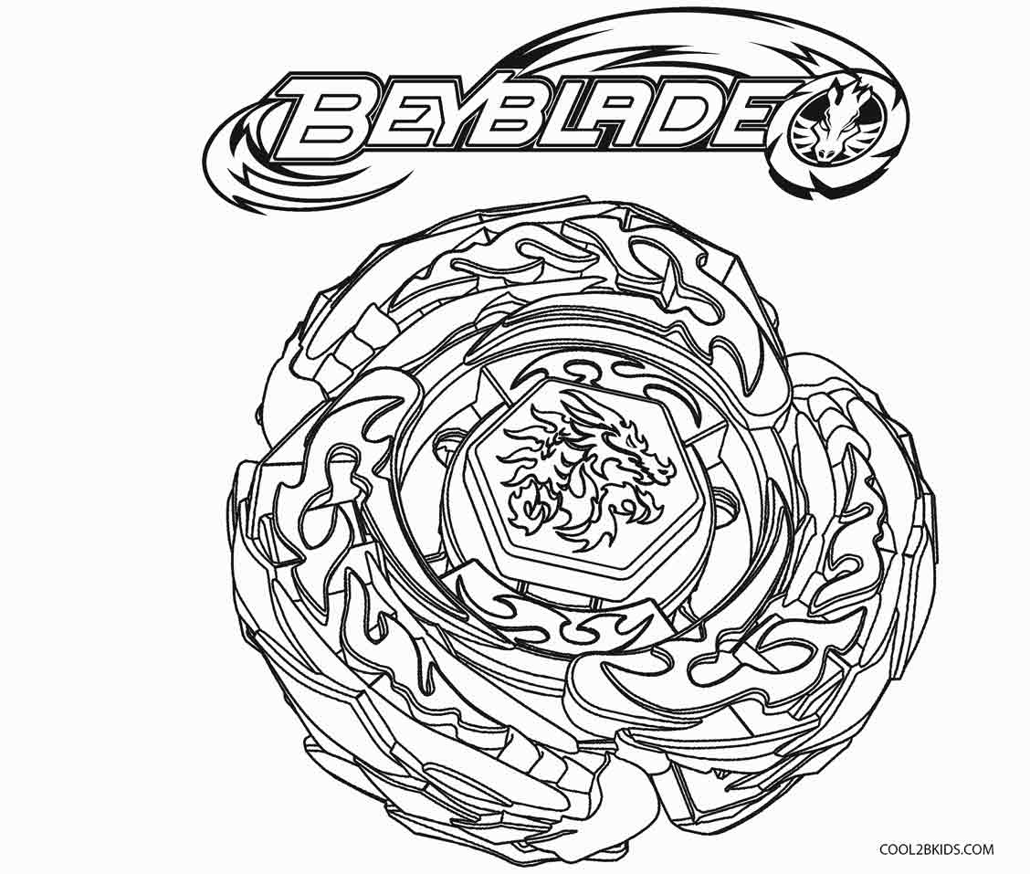 27+ Marvelous Photo of Beyblade Coloring Pages