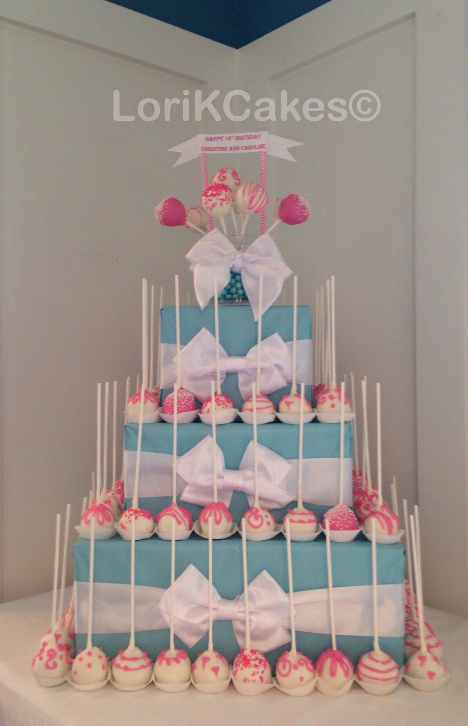 Birthday Cake Flavor Ideas Pink And White Cake Pops Birthday Cake Flavor Cake Pops Handmade