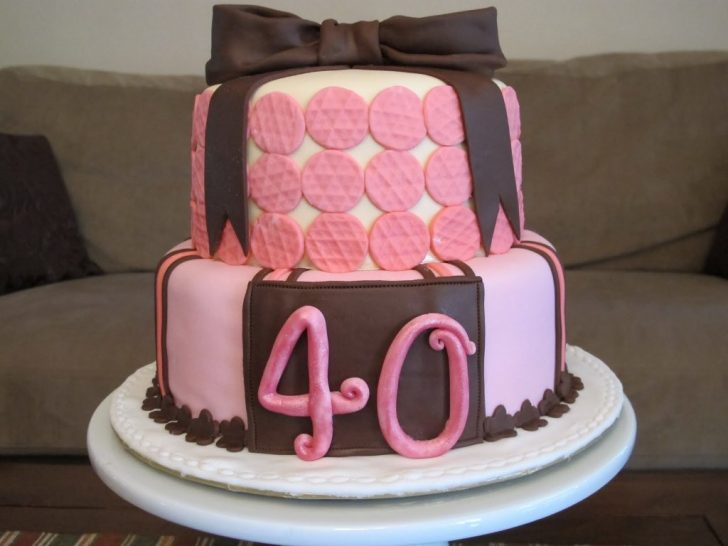 Birthday Cake For Women 40th Birthday Cakes For Women Wedding Academy Creative Planning
