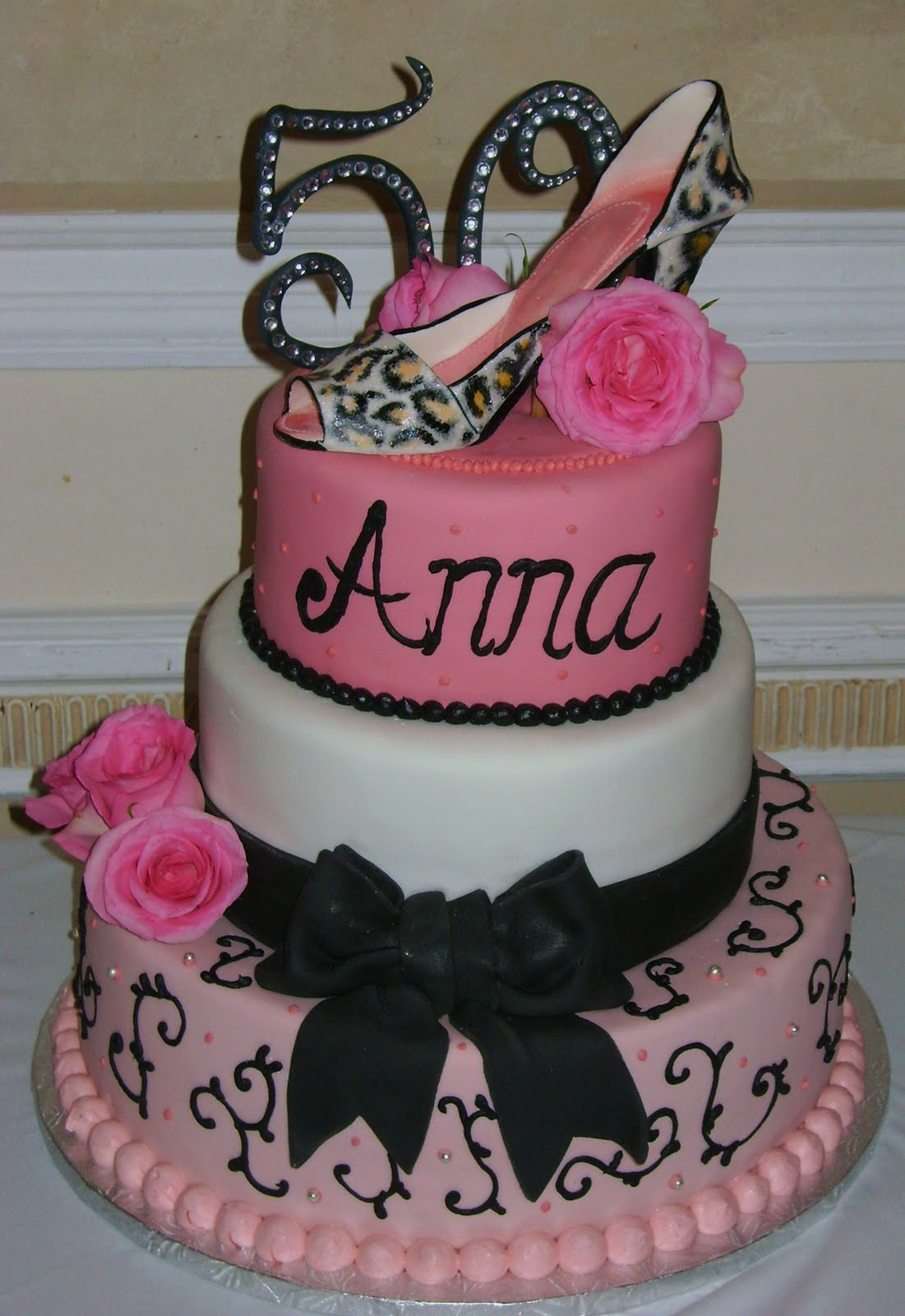 Birthday Cake For Women 50th Birthday Cakes For Women Wedding Academy Creative Elegant