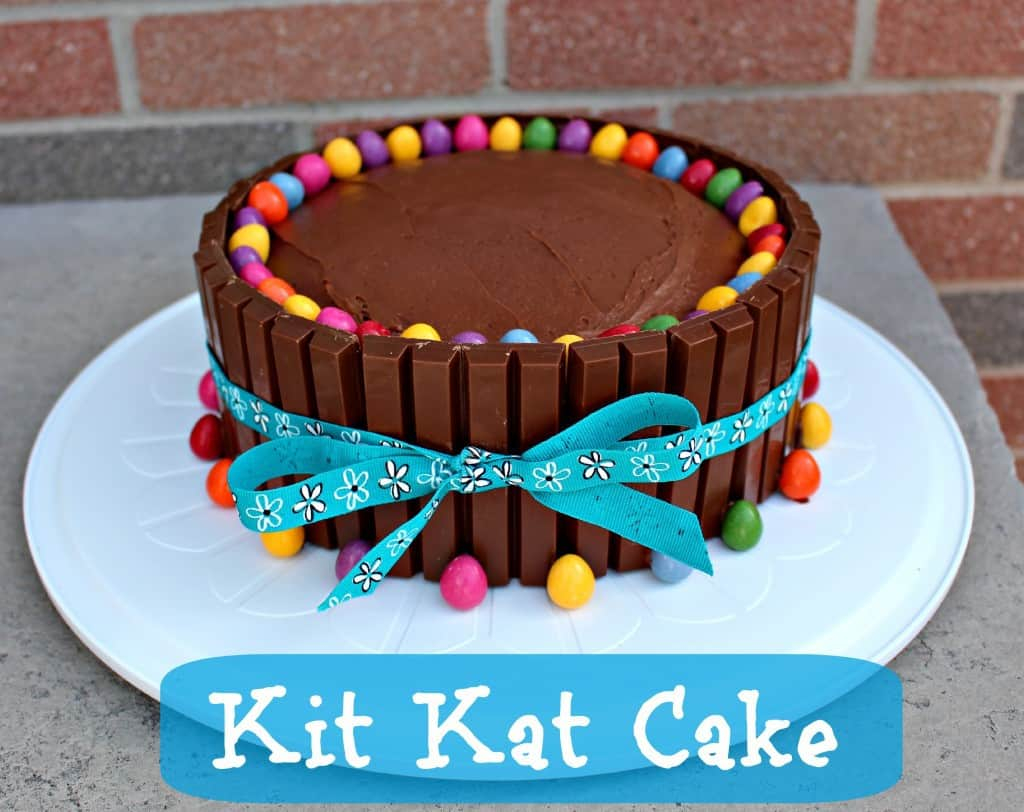 Birthday Cake For Women Kit Kat Cake Recipe Easy Birthday Cake Idea