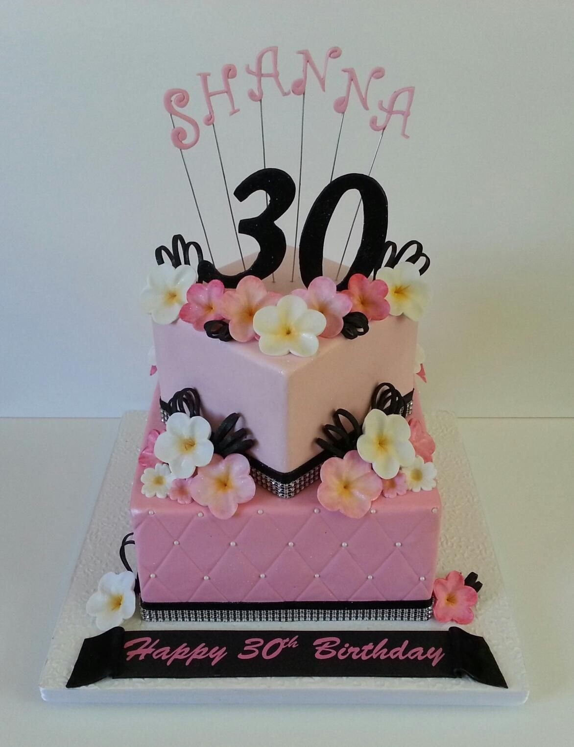Birthday Cake For Women My 30 Th Birthday Cake Cake Ideas Pinterest 30 Birthday