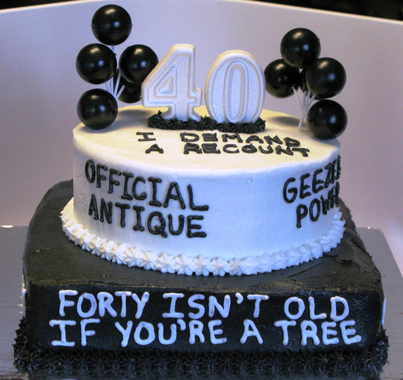 Birthday Cake Funny 40th Birthday Cake Ideas Funny Protoblogr Design 40th Birthday