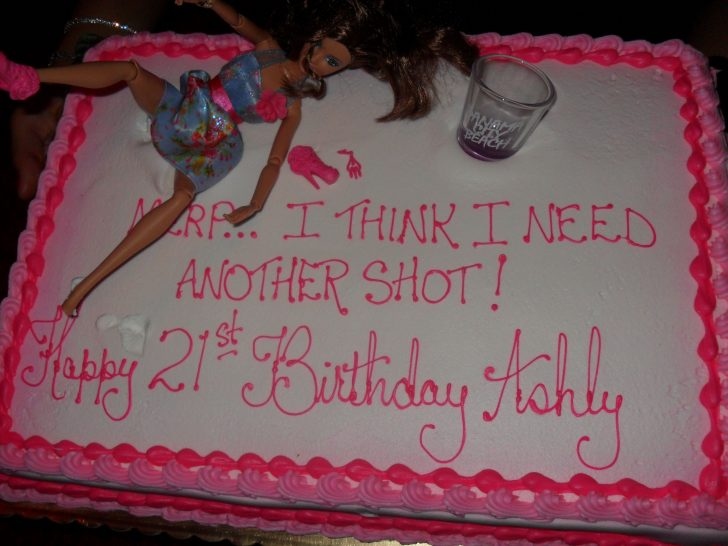 Birthday Cake Funny Haha I Love These Drunk Barbie 21st Birthday Cakes Too Funny 21