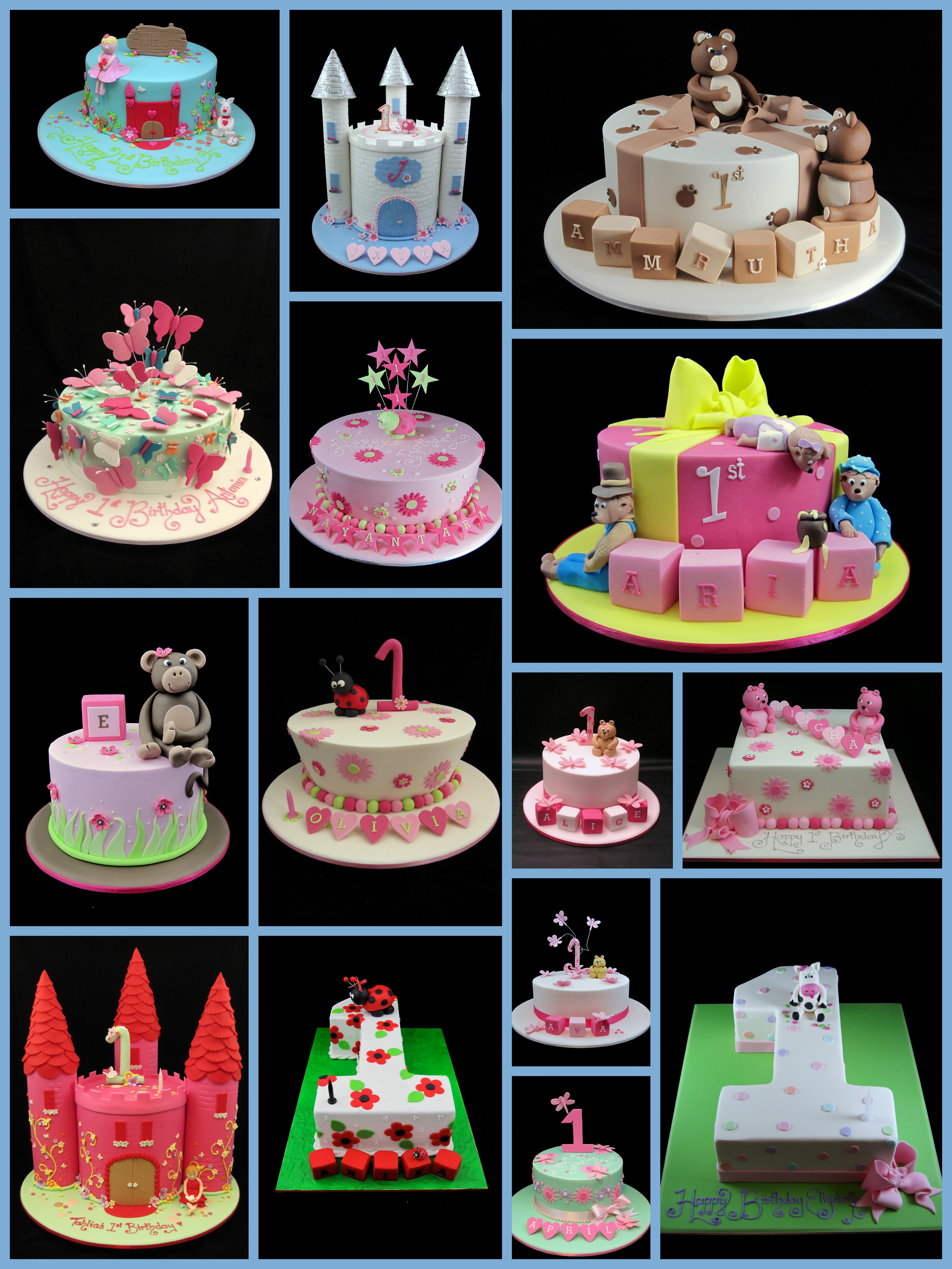 Birthday Cake Ideas For Girls 21st 368 Classic Style