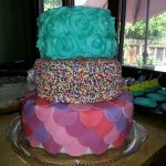 Birthday Cake Ideas For Girls I Made This For My 10 Year Old Cousin She Loved It Great Cake Idea