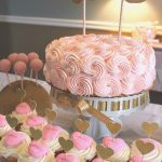 Birthday Cake Ideas For Girls Olivia Cates Pink Gold First Birthday Birthday Party Ideas