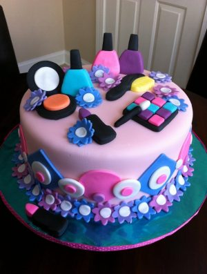 Birthday Cake Ideas For Girls Spa Themed Birthday Cake Birthday Pinterest Cake Birthday