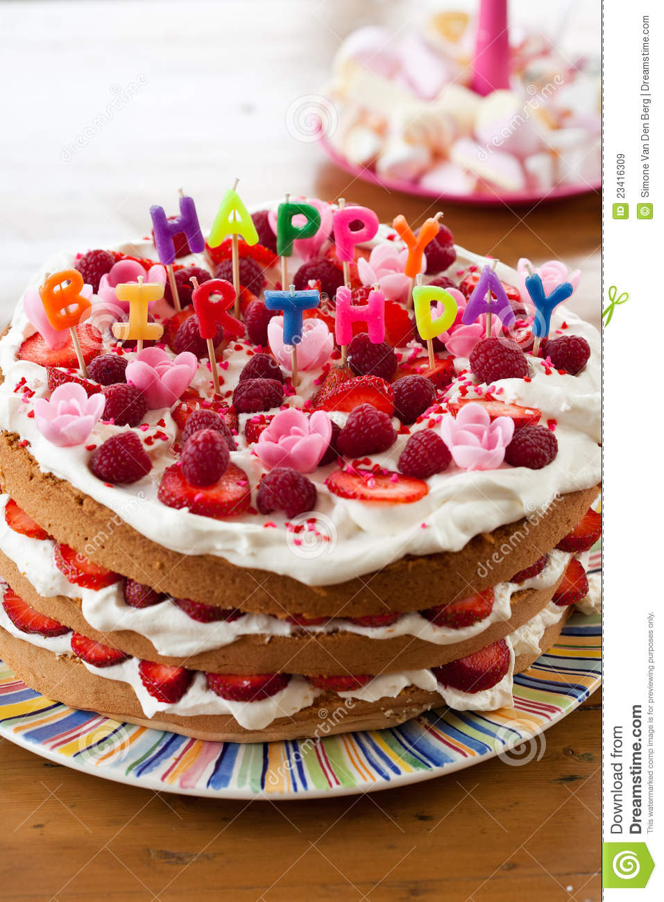 Birthday Cake Images Free Download Happy Birthday Cake Stock Image Image Of Obese Decoration 23416309