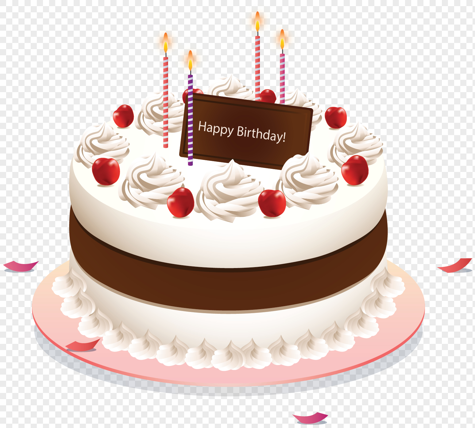 Birthday Cake Images Free Download White Cream Birthday Cake Png Imagepicture Free Download