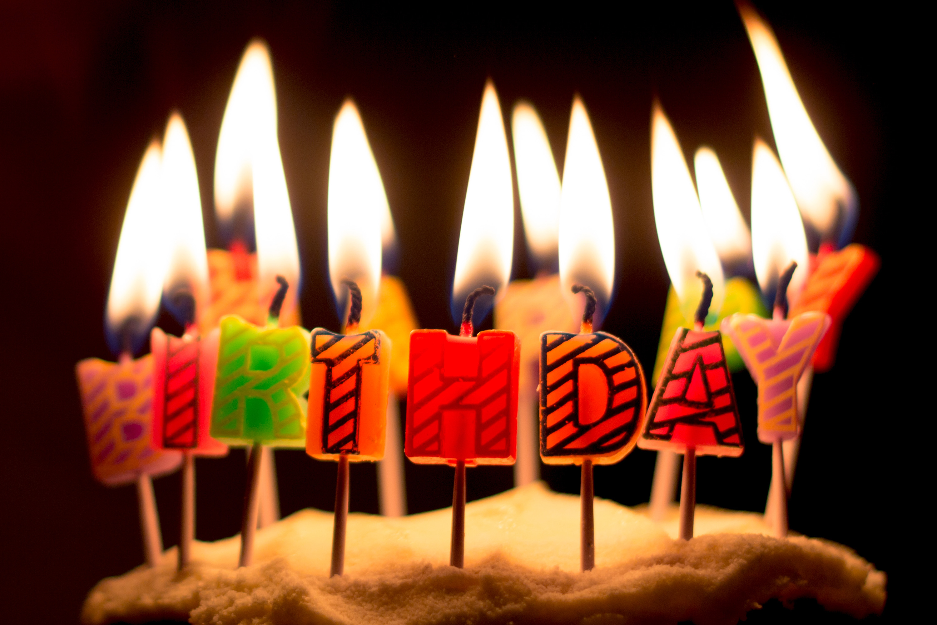 Birthday Cake Pic Download Birthday Cake Candles Free Photo Iso Republic