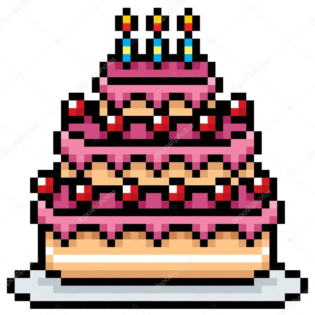 Birthday Cake Pic Download Birthday Cake Cartoon Stock Vector Sararoom 108678674