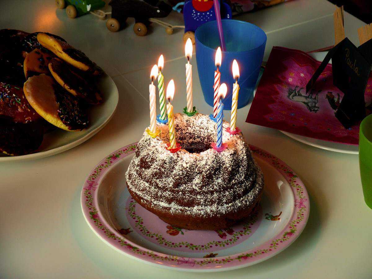 Birthday Cake Pic Download Dark Chocolate Birthday Cake Photo Imagepicture Free Download