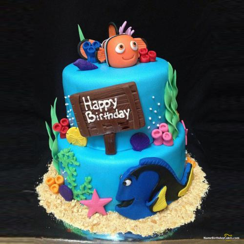 Birthday Cake Pic Download Disney Themed Birthday Cakes Download Share