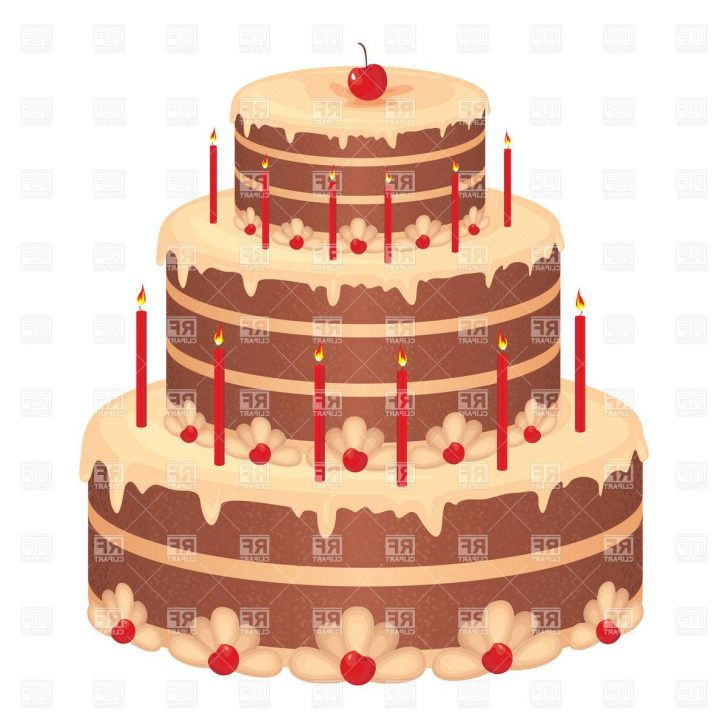 Birthday Cake Pic Download Hd Big Birthday Cake Download Royalty Free Vector File Eps Cdr