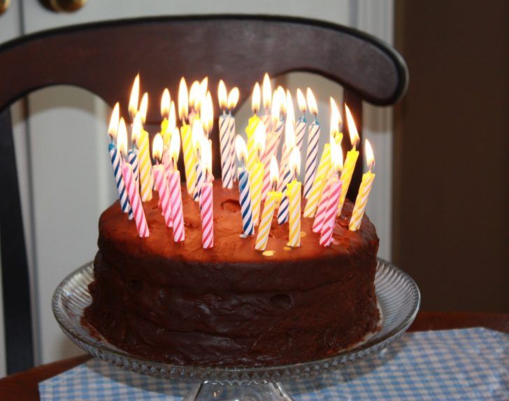 Birthday Cake With Lots Of Candles Birthday Cake With Lots Of Candles Hd Wallpaper Background Images