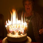 Birthday Cake With Lots Of Candles Owl Birthday Cake Chic Party Ideas
