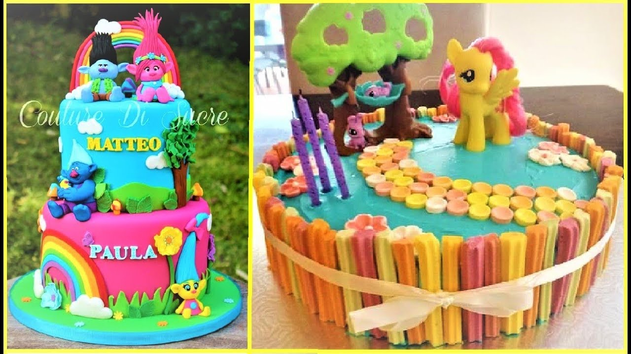 1280 X 720 In 32 Brilliant Image Of Birthday Cakes For Girls