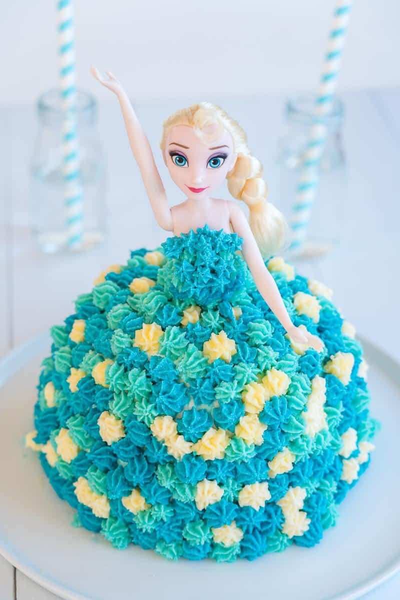 Birthday Cakes Images Elsa Cake Easy Diy Birthday Cake Tutorial My Kids Lick The Bowl