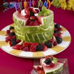 Birthday Cakes Images Watermelon Board Birthday Cake