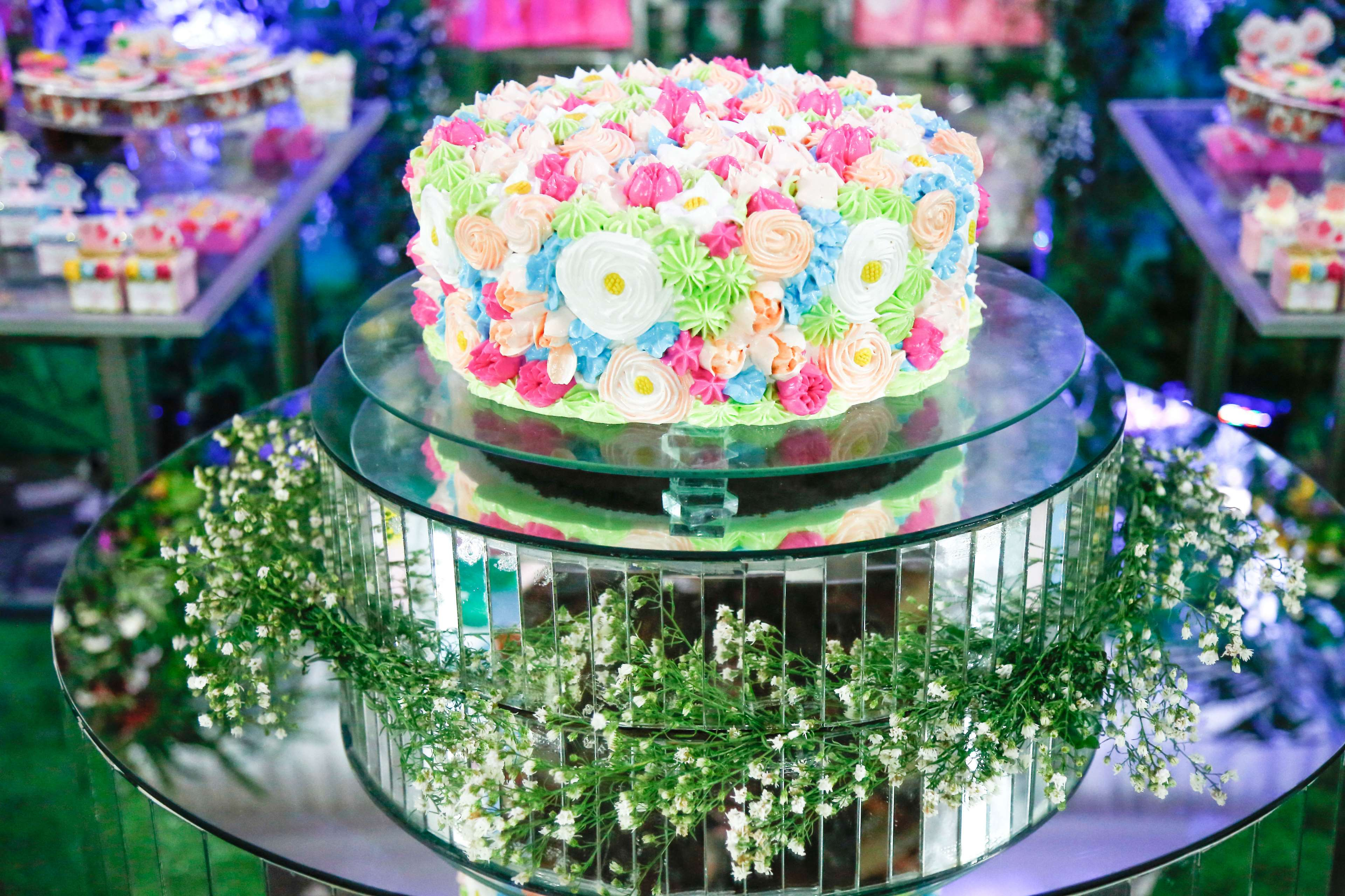 Birthday Flower Cake Birthday Cake Flower Cake Happy Birthday 4k Wallpaper And Background