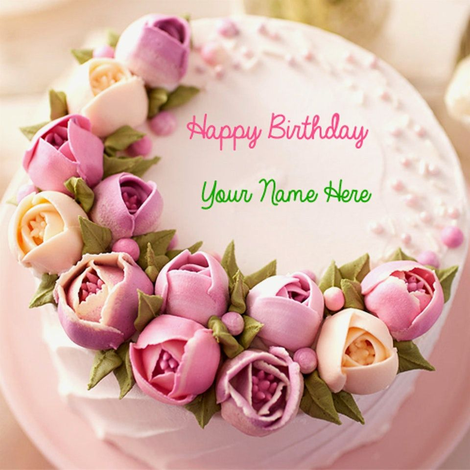 Birthday Flower Cake Happy Birthday Flower Cake Lovely Wonderful Happy Birthday Cake And