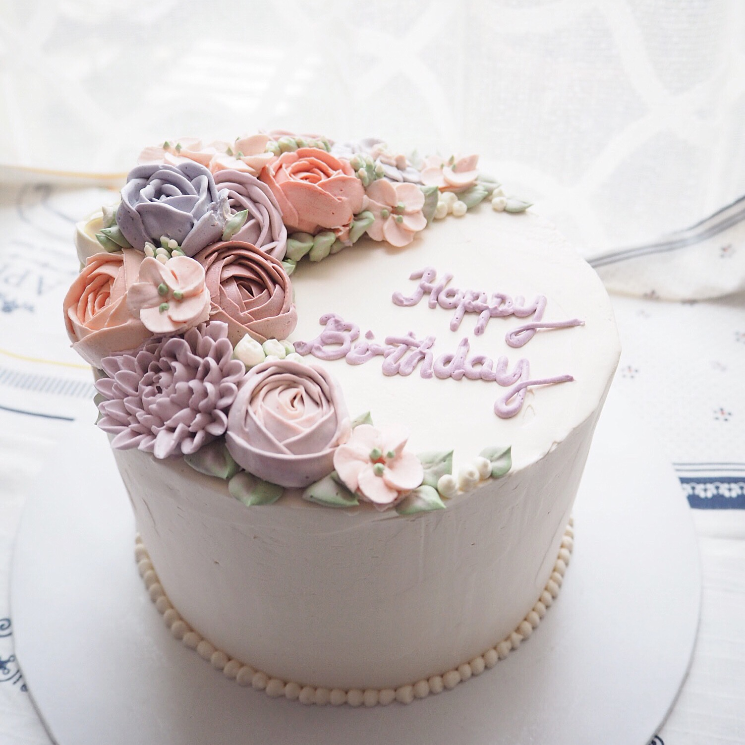 Birthday Flower Cake Index Of Wp Contentgallerybespoke Buttercream Flower Cakes
