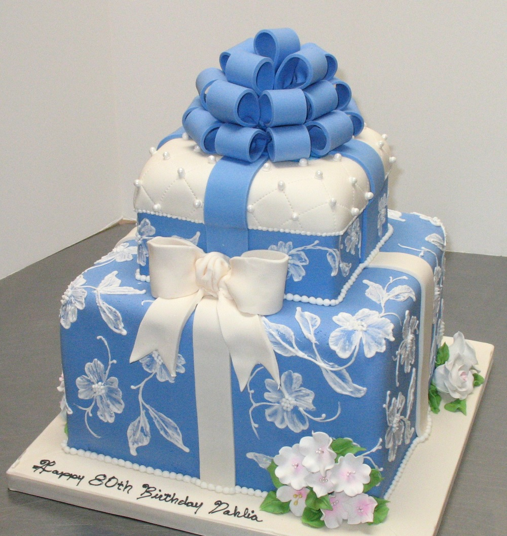 Blue And White Birthday Cake 10 Color Green Blue Birthday Cakes For Men Photo Blue And Green