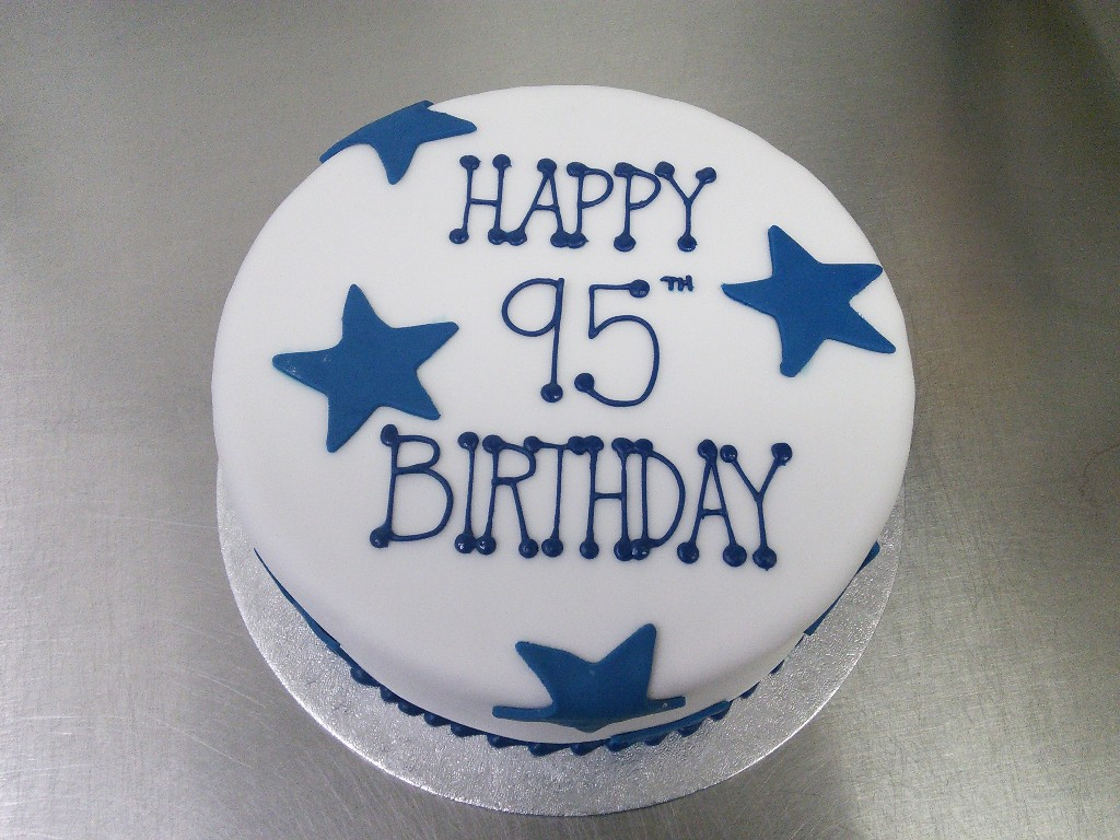 1024 X 768 In 27 Marvelous Picture Of Blue And White Birthday Cake