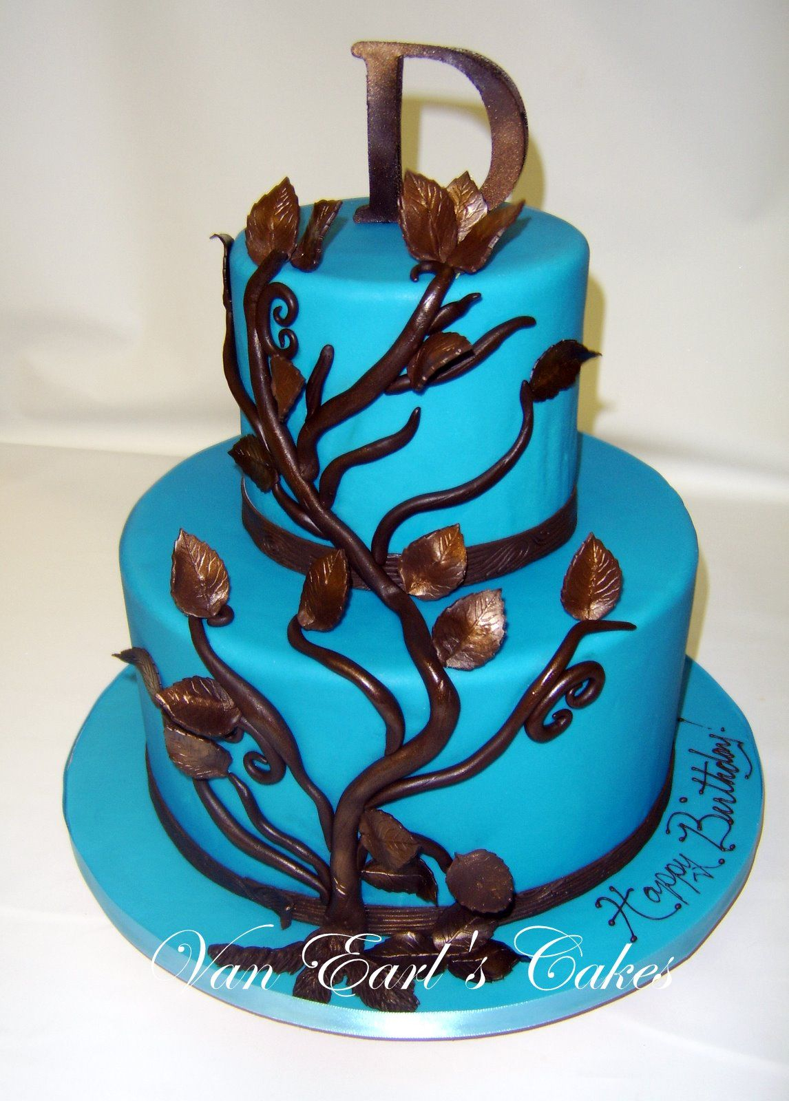 Blue Birthday Cake Blue Birthday Cakes For Women Happy Birthday Cake Designs