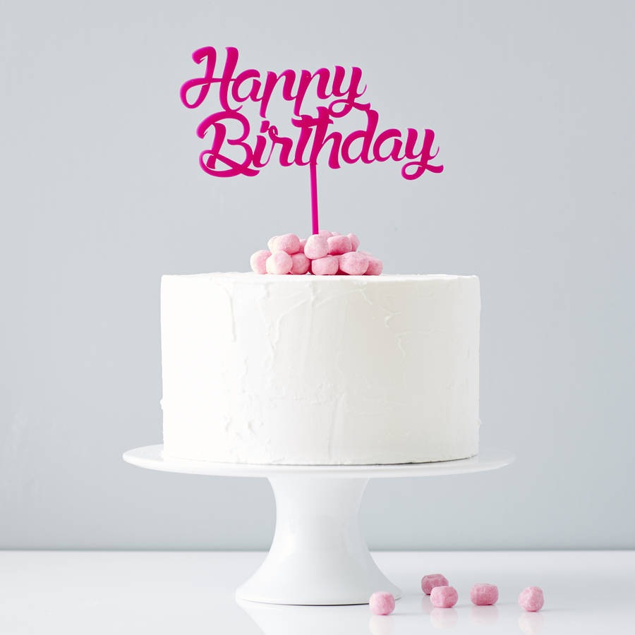 21+ Elegant Photo of Cake Toppers For Birthday
