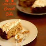 Carrot Cake Birthday Cake Low Carb Carrot Cake With Cream Cheese Frosting