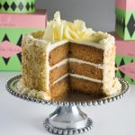 Carrot Cake Birthday Cake The Thrillbilly Gourmet Carrot Cake With Caramel Glaze And Cream