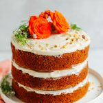 Carrot Cake Birthday Cake Vegan Gluten Free Carrot Cake Minimalist Baker Recipes