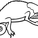 Chameleon Coloring Page Chameleon Coloring Page Free Printable Coloring Pages