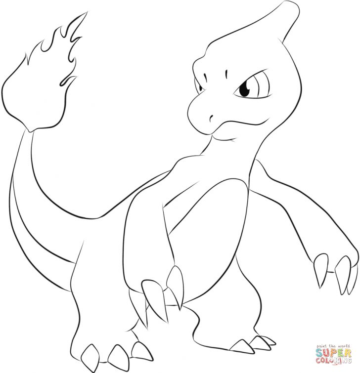 Charmander Coloring Page Charmeleon Coloring Page Free Printable Coloring Pages