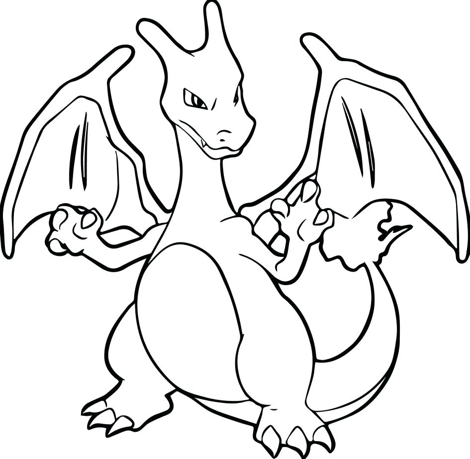 Charmander Coloring Page Coloring Pages Pokemon Charmander At Getdrawings Free For